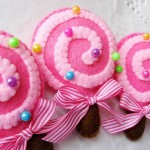 Bombones rosados decoracion