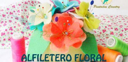 Alfiletero de Flores Miniatura