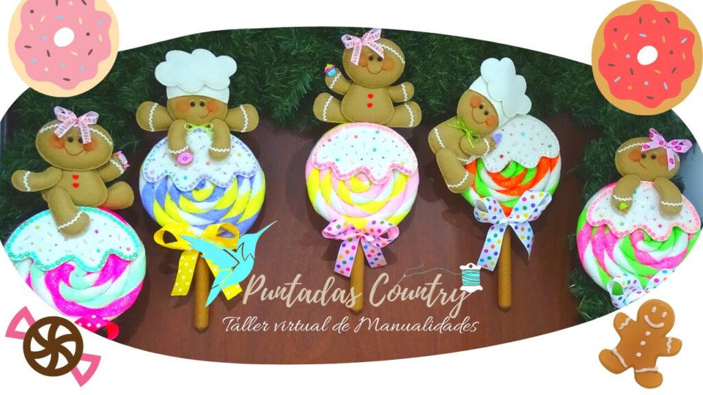 Puntadas Country - Colombinas Cookies Traviesas