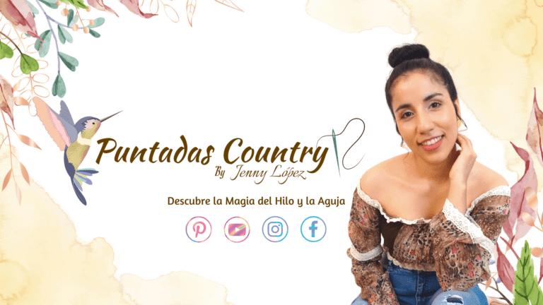 Puntadas Country - Puntadas de Bordado a mano